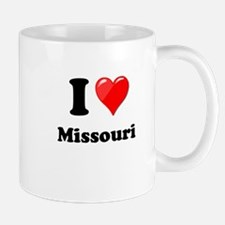 I Love Missouri Mugs