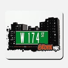 W 174 St, Bronx, NYC Mousepad