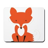 Cute fox Classic Mousepad