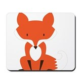 Cute fox Mouse Pads