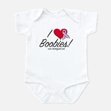 I Love Boobies! Infant Bodysuit