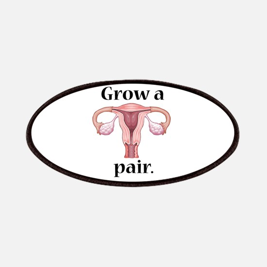 Grow a Pair. Patches