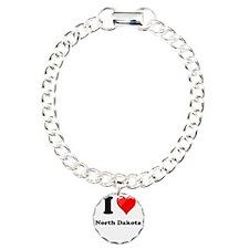 I Love North Dakota Bracelet