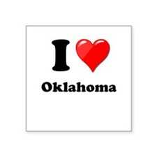 I Love Oklahoma Sticker