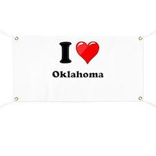 I Love Oklahoma Banner