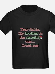 Dear Santa My Brother T-Shirt