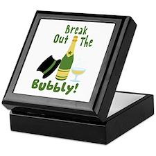 Break Out The Bubbly! Keepsake Box