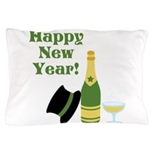 Happy New Year! Pillow Case