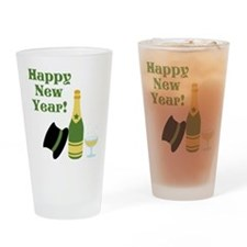 Happy New Year! Drinking Glass