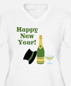 Happy New Year! Plus Size T-Shirt