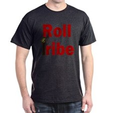 Roll Tribe Red/Dark Gray T-Shirt