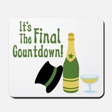 Its The Final Countdown! Mousepad