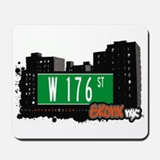 W 176 St, Bronx, NYC Mousepad