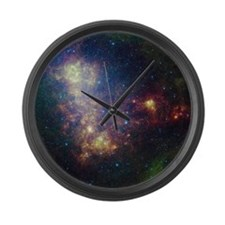 Space Large Wall Clock