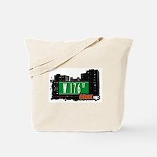 W 176 St, Bronx, NYC Tote Bag