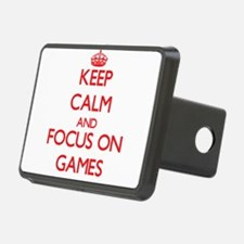 Keep calm and focus on Games Hitch Cover