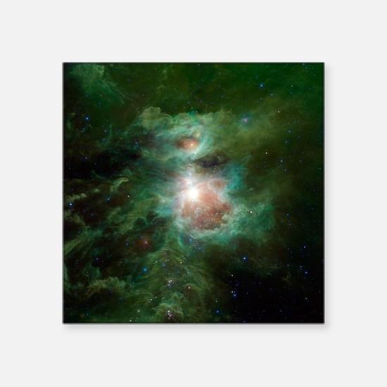 """Space Square Sticker 3"""" x 3"""""""