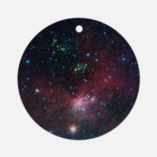 Space Round Ornament