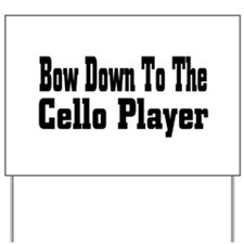 cello36.png Yard Sign