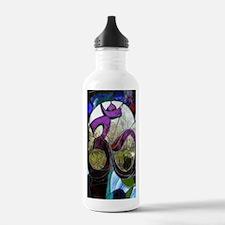 Sanskrit Om Wheel Water Bottle