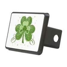 Swirly Shamrock Hitch Cover