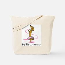 Ballet Wiener Tote Bag