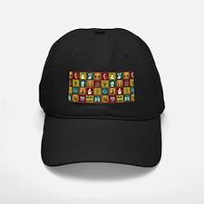 CHRISTMAS CRAZY QUILT Baseball Hat