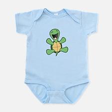 Skuzzo Happy Turtle Body Suit
