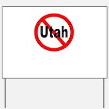 utah.jpg Yard Sign