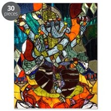 Stained Glass Ganesh Puzzle