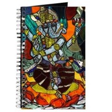 Stained Glass Ganesh Journal