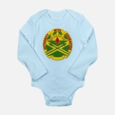 DUI - 111th Ordnance Group Long Sleeve Infant Body