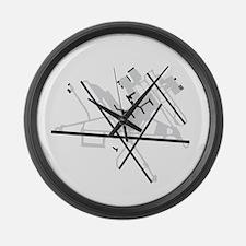 BWI Baltimore/Washington Internat Large Wall Clock