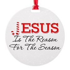 Jesusisthereason Ornament