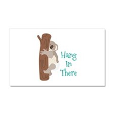 Hang In There Car Magnet 20 x 12