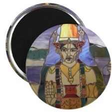 Stained Glass Dhanvantari Magnet