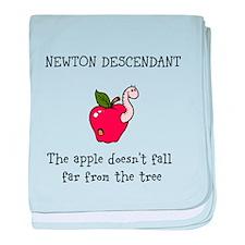 Newton Descendant baby blanket