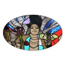 stained glass Keshava Decal
