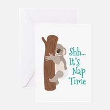 Shh... Its Nap Time Greeting Cards