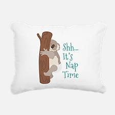 Shh... Its Nap Time Rectangular Canvas Pillow
