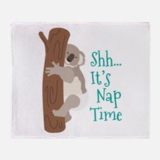 Shh... Its Nap Time Throw Blanket