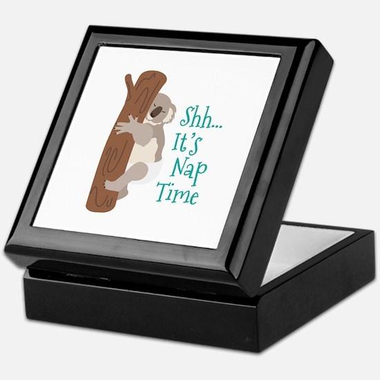 Shh... Its Nap Time Keepsake Box