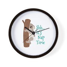 Shh... Its Nap Time Wall Clock