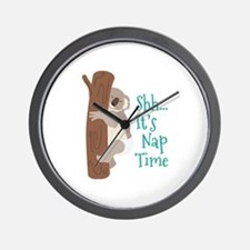 Shh... Its Nap Time Wall Clock