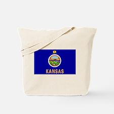 Kansas flag Tote Bag