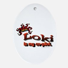 Gifts Oval Ornament