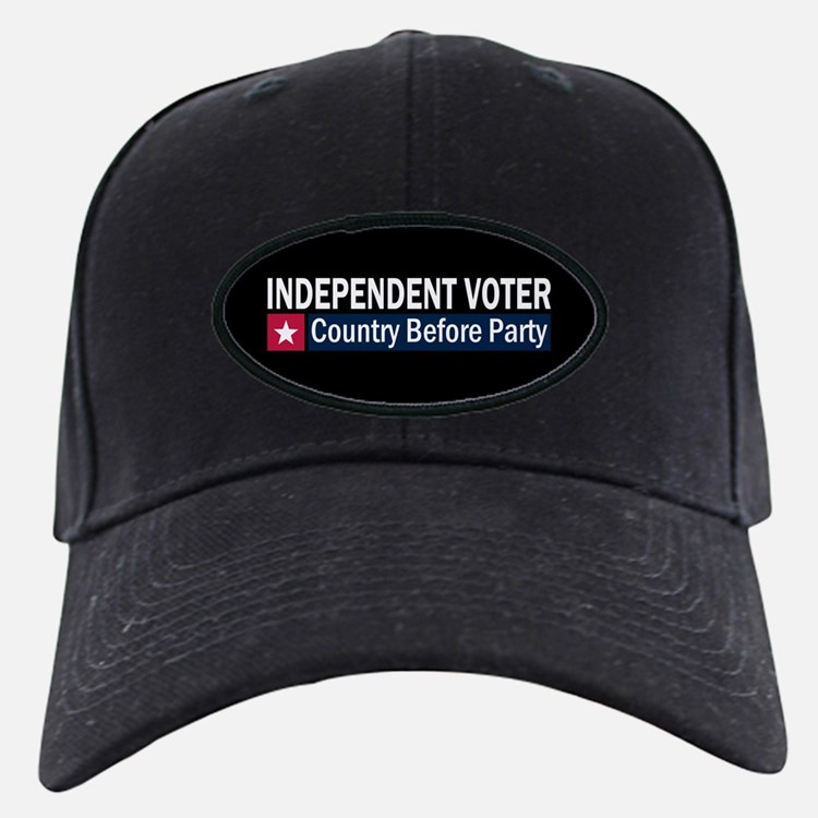 Independent Voter Red Blue Cap