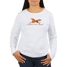 horse chestnut mare cup Long Sleeve T-Shirt