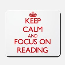 Keep calm and focus on Reading Mousepad