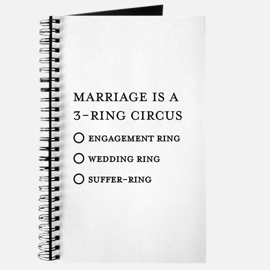 Marriage 3 Rings Journal